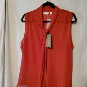 Eva Mendes New York & Co. Sheer blouse